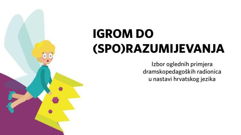 Online promocija besplatnog priručnika dramskih igara i vježbi koje se mogu koristiti u nastavi