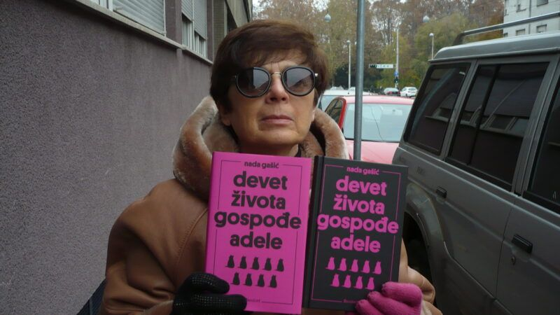 Nada Gašić: Napisala sam prvi roman kad više nisam mogla držati literaturu u sebi