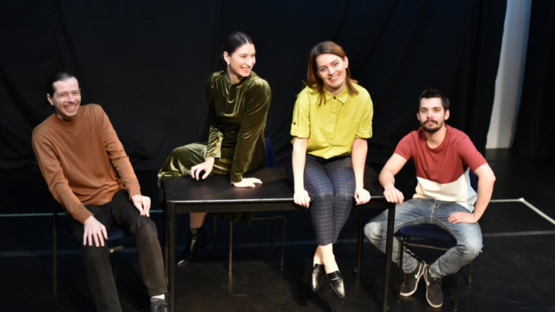 Premijera predstave 'Sreća' Jelene Hadži-Manev u &TD-u