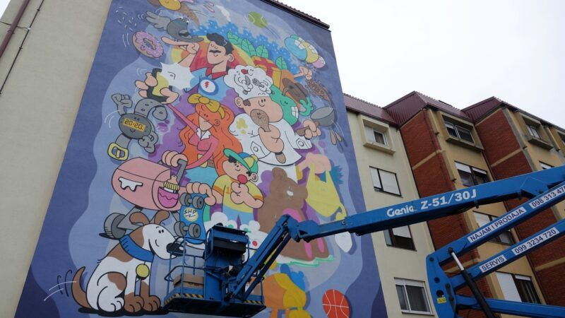 Zagreb više nije siv! Pogledajte murale koji su vratili život na ulice i šarenilo na zidove