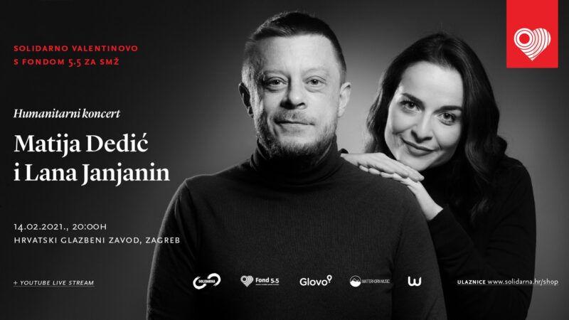 Matija Dedić i Lana Janjanin na Valentinovo održali humanitarni koncert