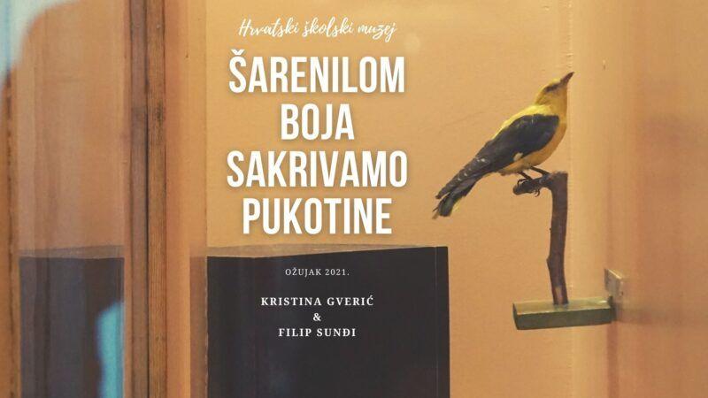 Virtualna izložba 'Šarenilom boja sakrivamo pukotine' Hrvatskog školskog muzeja