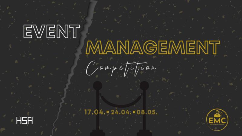 Event Management Competition: Projekt za sve studente željne novih znanja