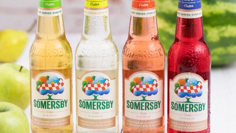 Somersby predstavo hrvatsku verziju svog loga, kako bi potrošače upoznao s činjenicom da se Somersby bočice proizvode u Hrvatskoj