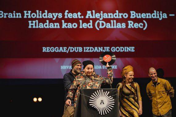 Brain Holidays ponosni vlasnici nagrade Ambasador za najbolje Reggae/Dub izdanje!