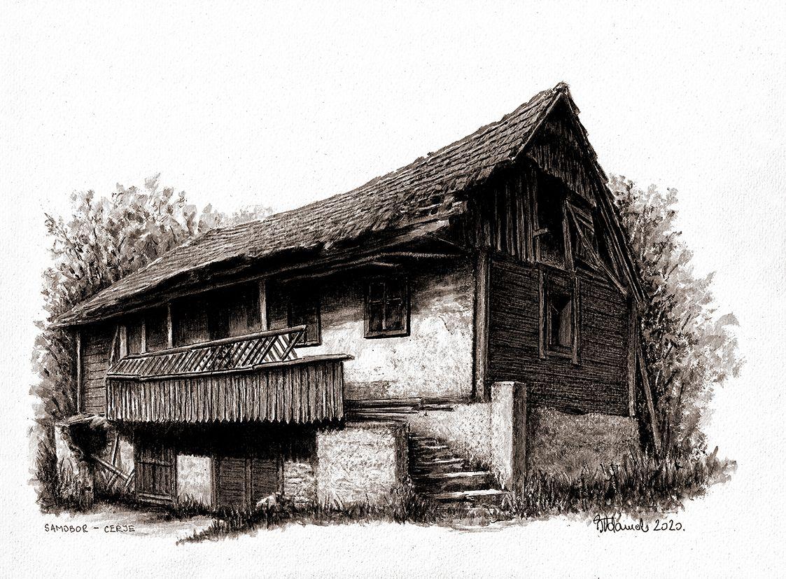Otvorenje izložbe 'Nostalgija' Borisa Adameka u Galeriji Modulor