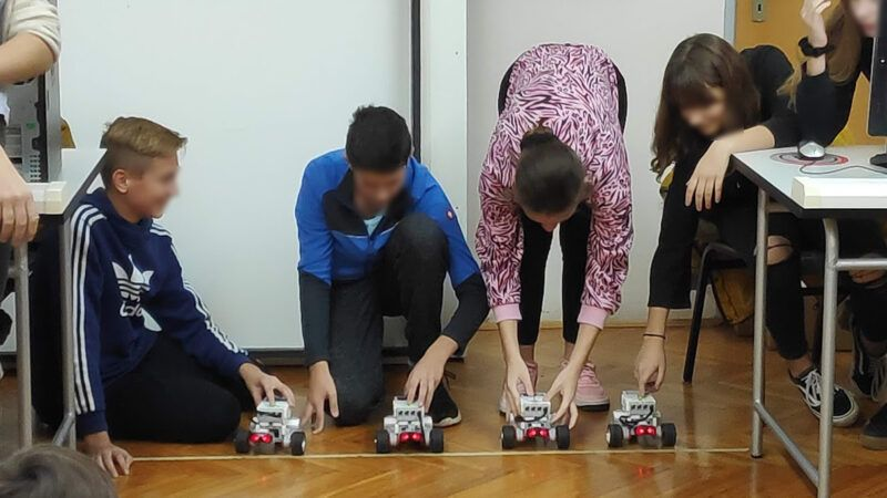 TMNTEEN: Ne propustite radionicu programiranja robota od LEGO kockica
