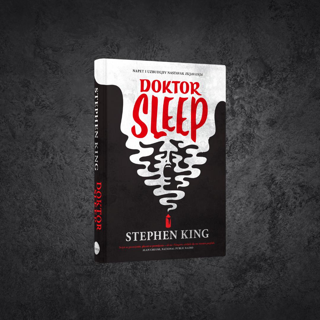Uskoro izlazi hrvatski prijevod 'Doktora Sleepa', zastrašujućeg nastavka 'Isijavanja' – romana koji je stvorio književnu legendu