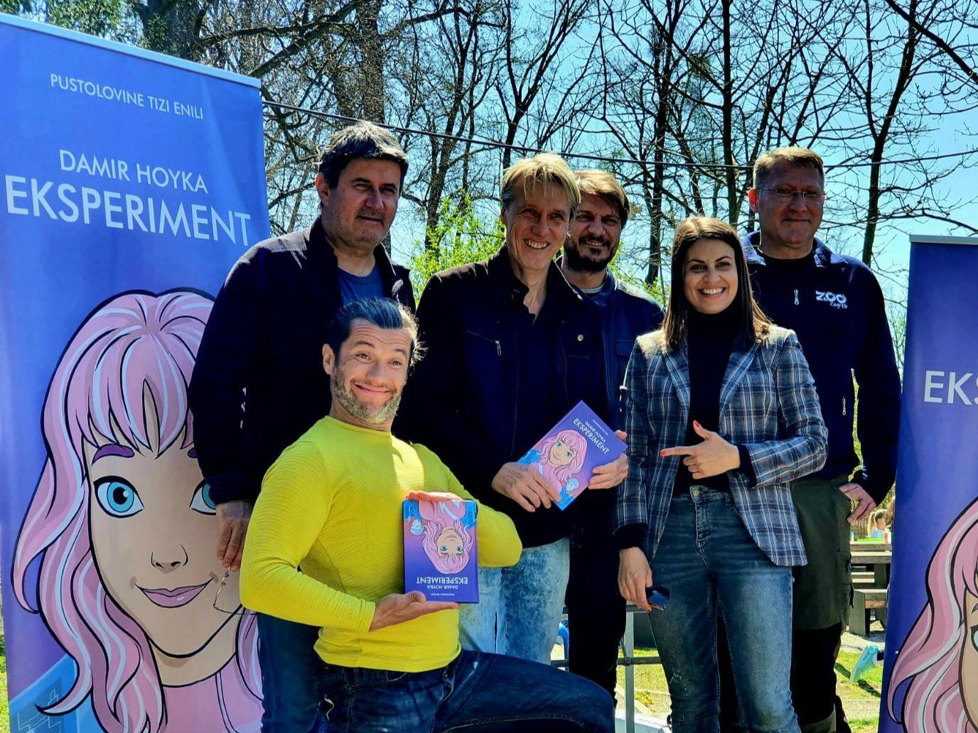 Damir Hoyka predstavio svoj prvi roman za djecu u sklopu Zekanja u ZOO vrtu