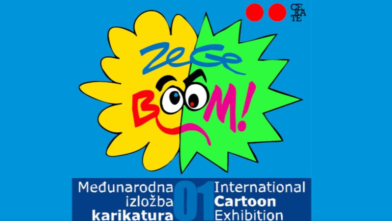 ZeGeBOOM: Prva međunarodna izložba karikatura