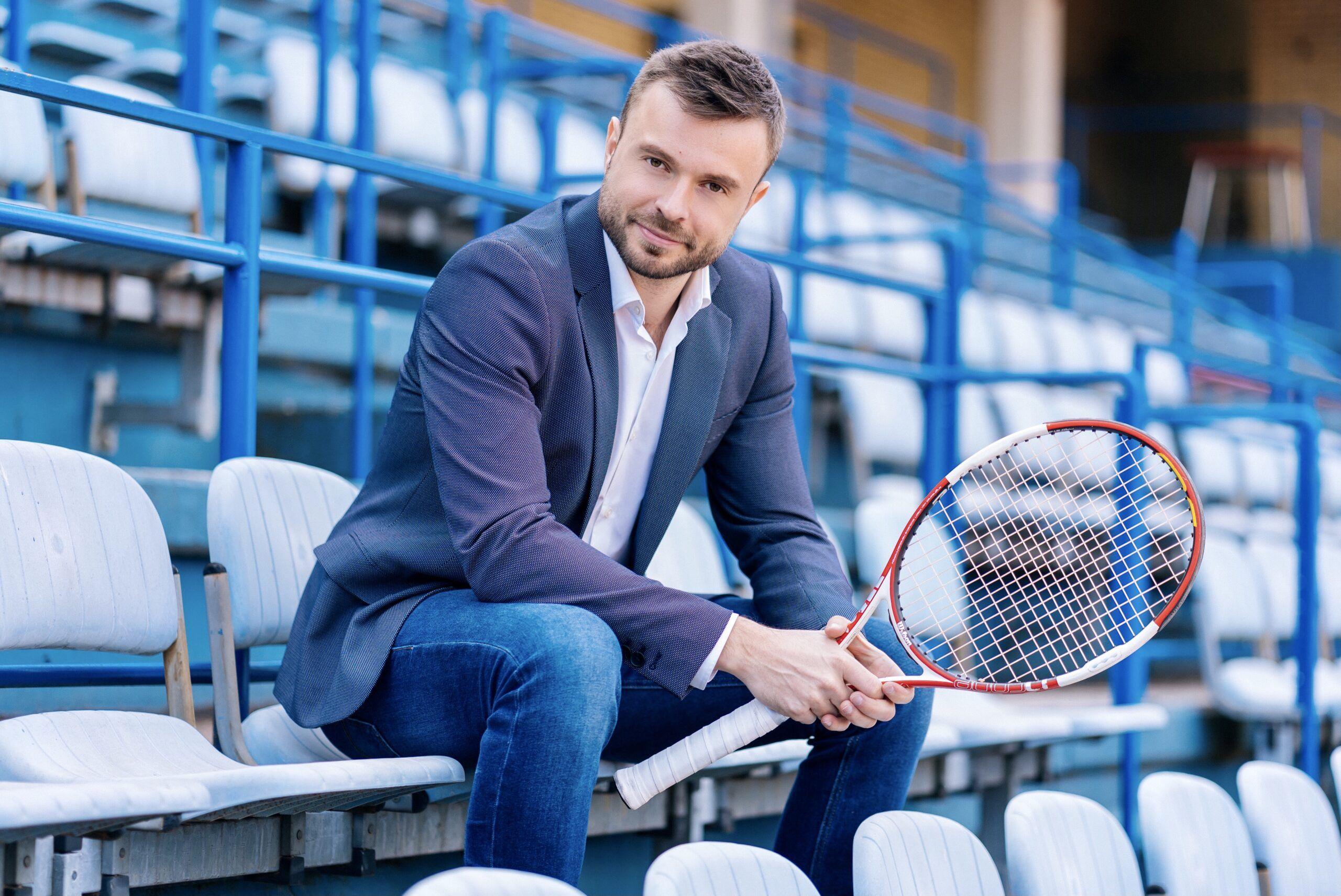 Od profesionalnog tenisača, do bubnjara i menadžera: Goran Belošević vraća muški tenis u grad Zagreb
