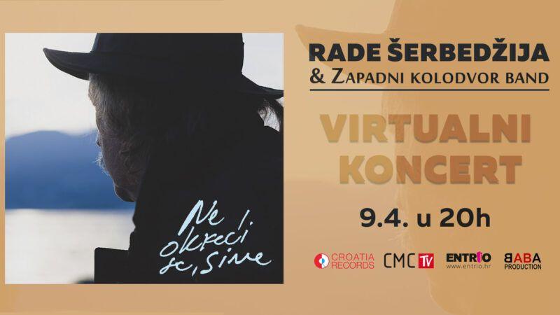 Rade Šerbedžija priprema se za svoj virtualni koncert
