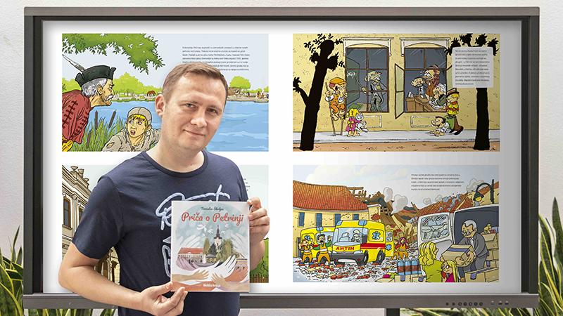 Vrijedan humanitarni projekt Školske knjige: Priča o Petrinji Tomislava Škrljca