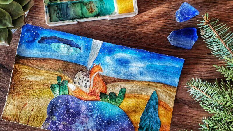 Prekrasne akrilne ilustracije umjetnice Marije Puović ostavit će vas bez daha