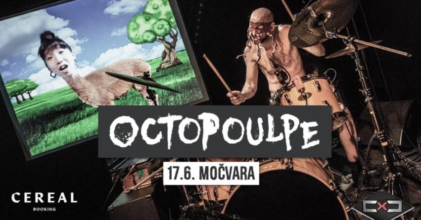 CEREAL BOOKING u Močvari – stižu Octopulpe i Haiku Garden