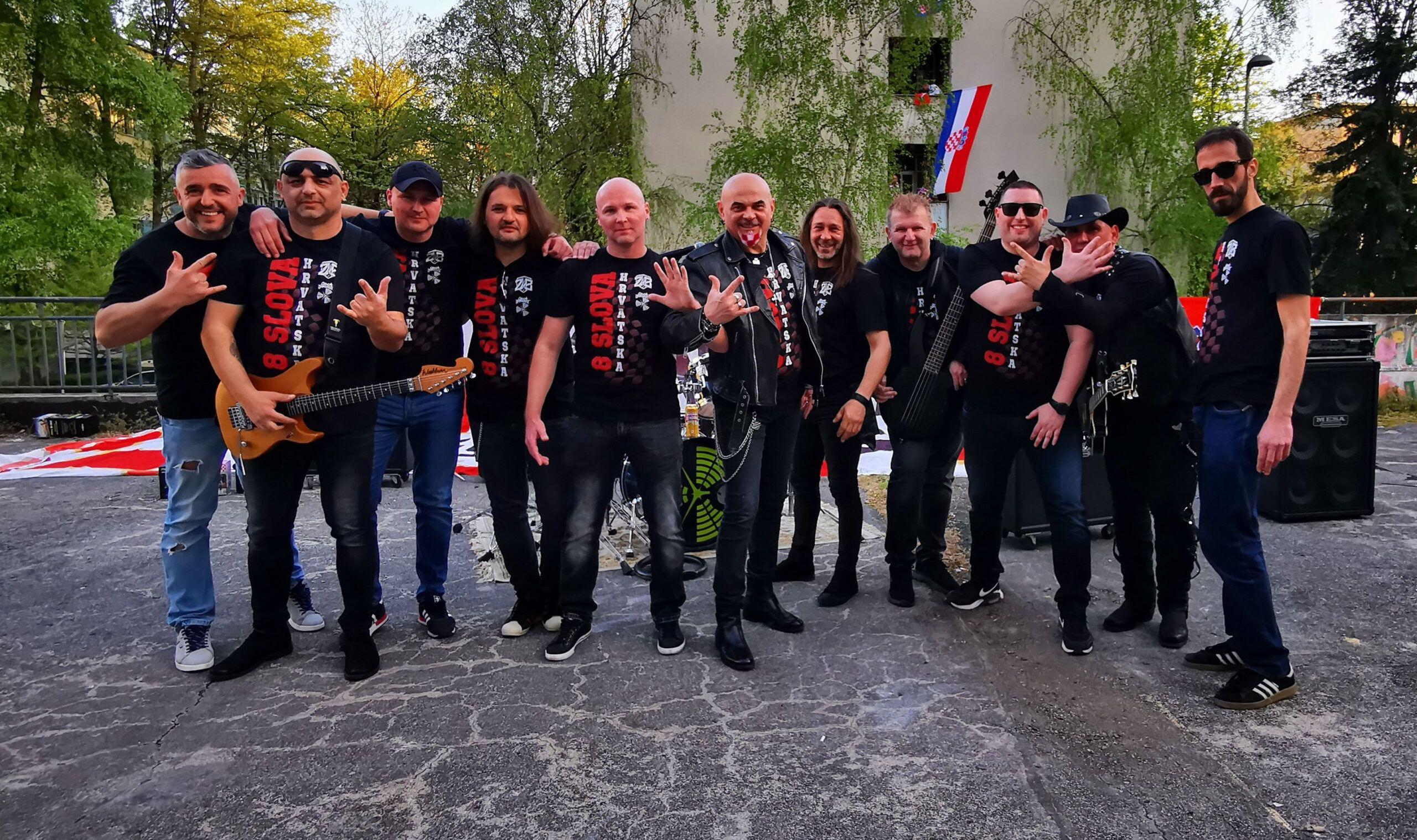 Grupa Zaprešić Boys uoči Eura 2021 udružili snage s Općom Opasnosti u hit singlu '8 slova'
