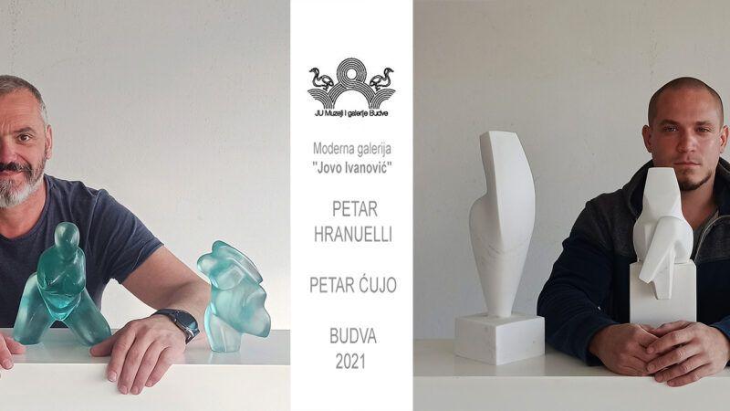 Petar Hranuelli i Petar Ćujo otvorili izložbu skulptura u Crnoj Gori