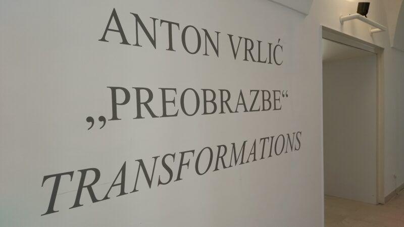 Izložba 'Preobrazbe' Antona Vrlića otvorena u Galeriji Klovićevi dvori