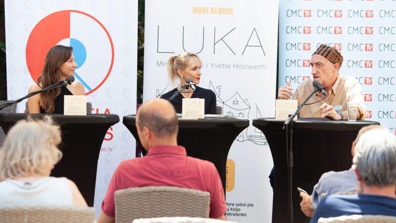 Miroslav Tadić & Yvette Holzwart nakon sjajnog koncerta predstavili i zajednički album 'Luka'