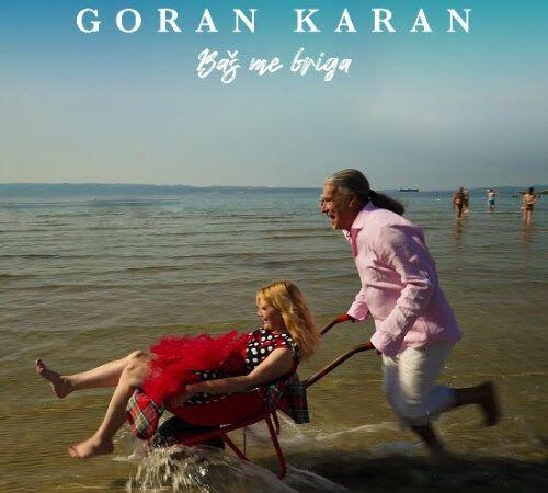 Goran Karan predstavlja novi singl i redateljski prvijenac 'Baš me briga'