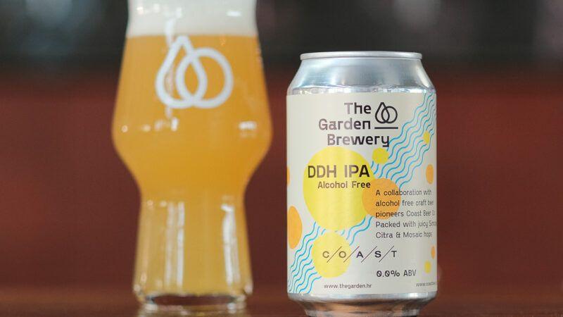 The Garden Brewery proizvela prvo bezalkoholno craft IPA pivo u regiji