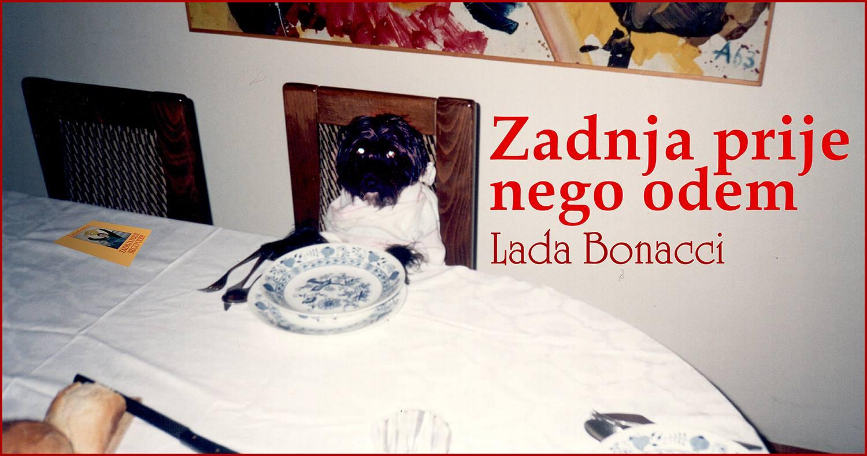 Premijera nove samostalne predstave Lade Bonacci