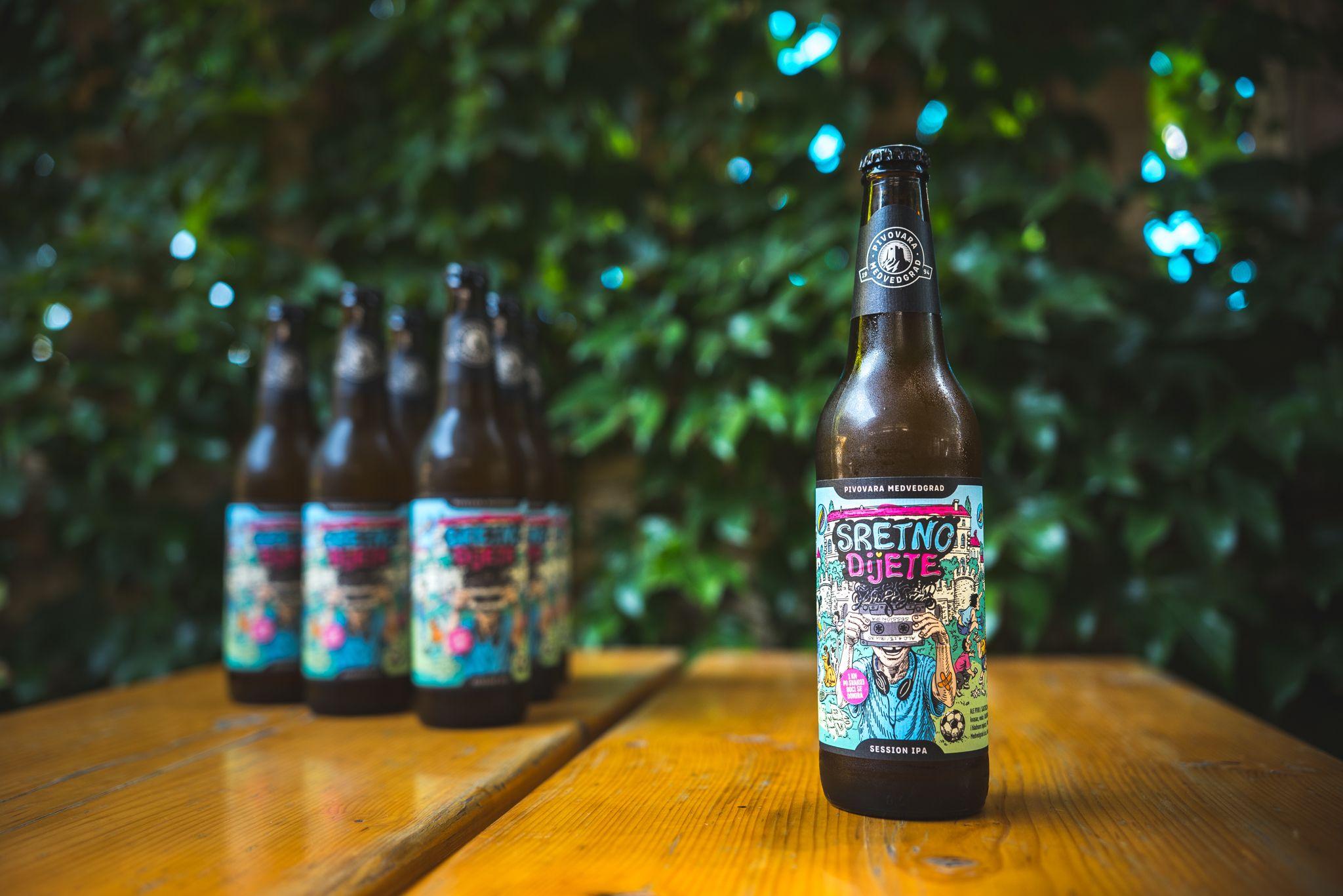 Udruga Kolibrići leti na krilima Medvedgradovog piva Sretno dijete