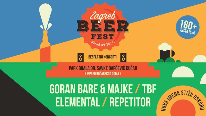 Goran Bare & Majke, TBF, Elemental i Repetitor otvaraju ovogodišnji Zagreb Beer Fest