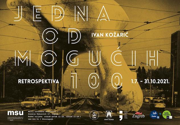 Retrospektiva u povodu stogodišnjice rođenja Ivana Kožarića u MSU