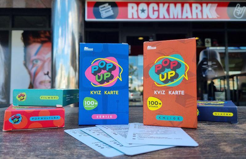 Knjige i serije: Nove špilove Pop up kviz karata pronađite u Rockmarku