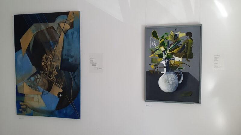 Spoj poezije i slikarstva na aktualnoj izložbi mlade akademske umjetnice Andree Cihlar u Zagrebu