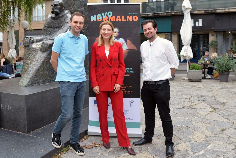 Kazalište Moruzgva održalo je press konferenciju povodom početka provedbe projekta 'Novo normalno'