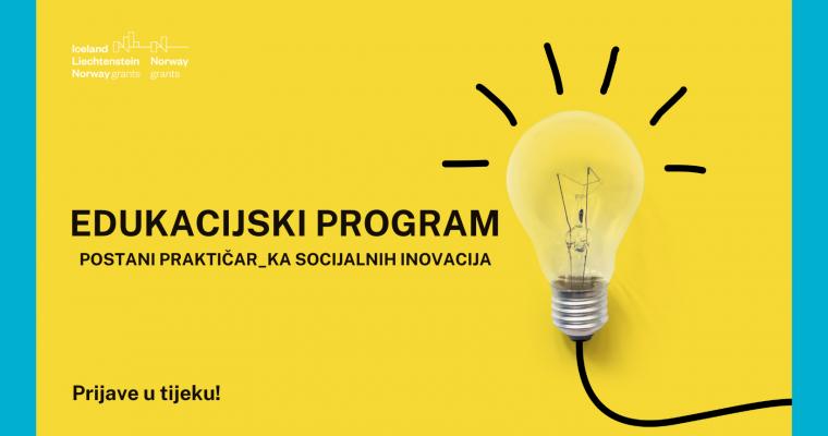 Otvoren poziv za drugu generaciju praktičarki i praktičara socijalnih inovacija