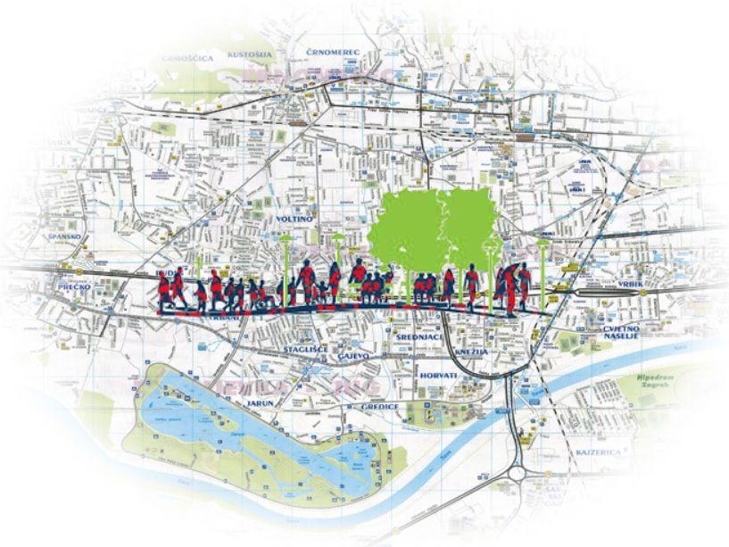 Najava budućih akcija projekta Mapiranje Trešnjevke