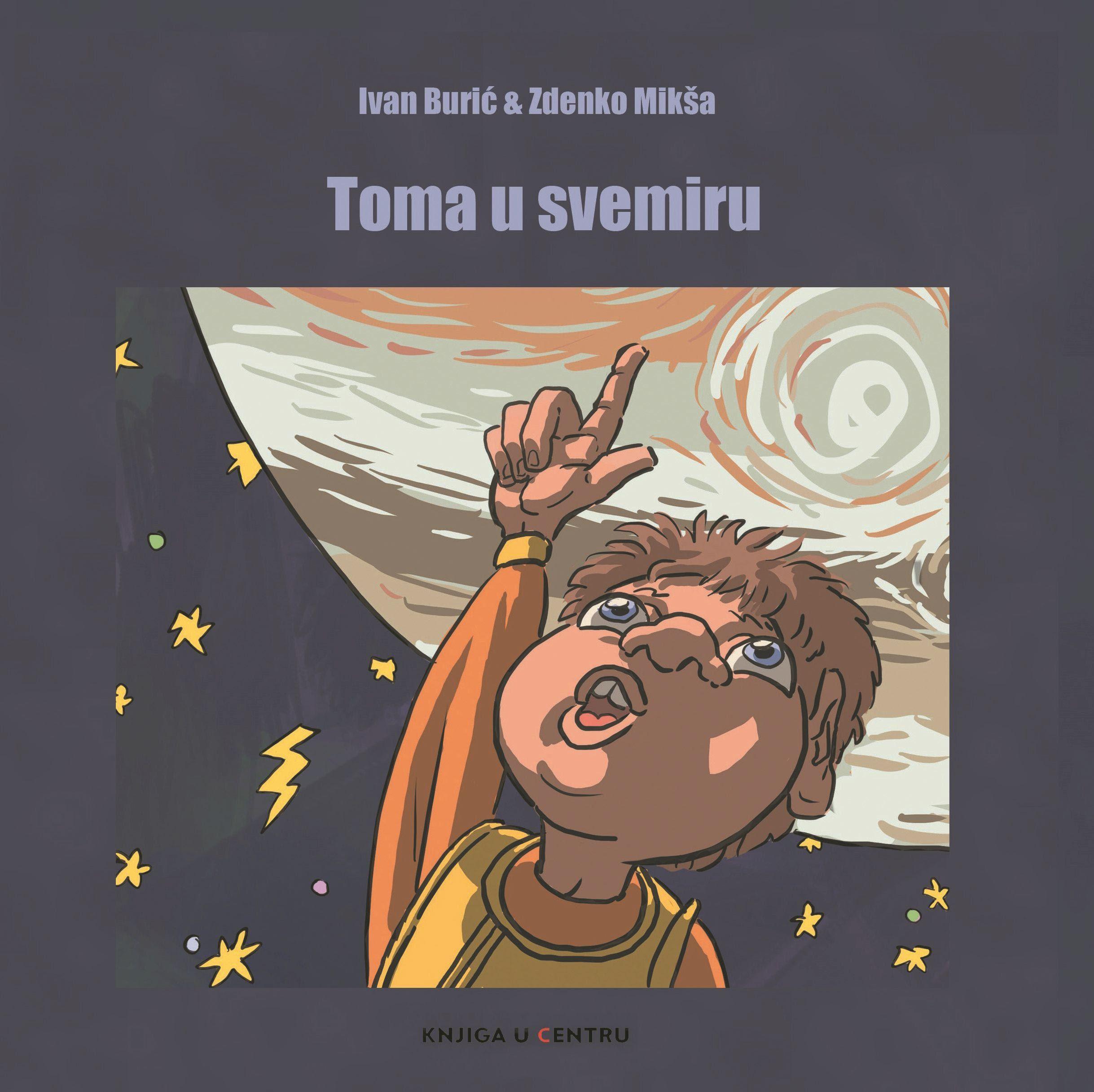 Svestrani umjetnik Ivan Burić izdao svoju prvu slikovnicu 'Toma u svemiru'