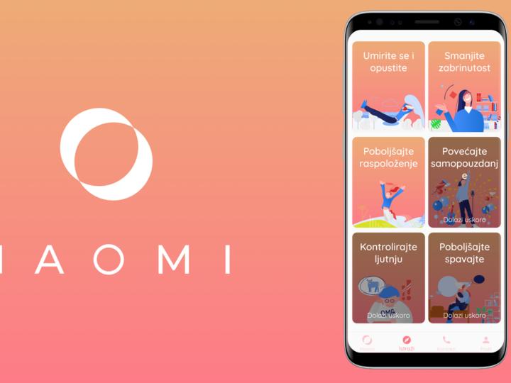 Hrvatska aplikacija za mentalno zdravlje koju bi trebali imati na svom pametnom uređaju – NAOMI