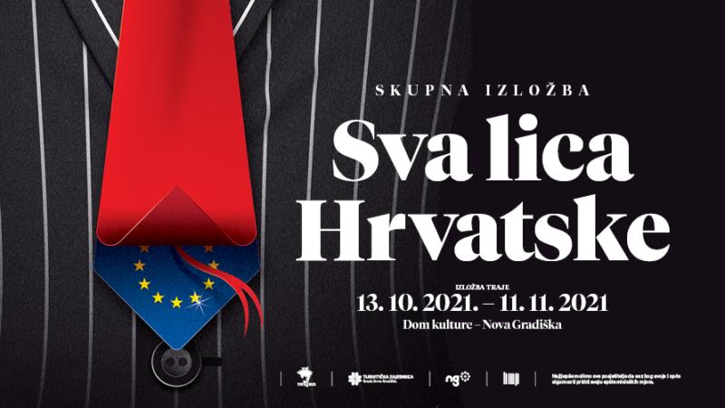 Hrvatska viđena očima hrvatskih umjetnica i umjetnika na impozantnoj izložbi 'Sva lica Hrvatske'