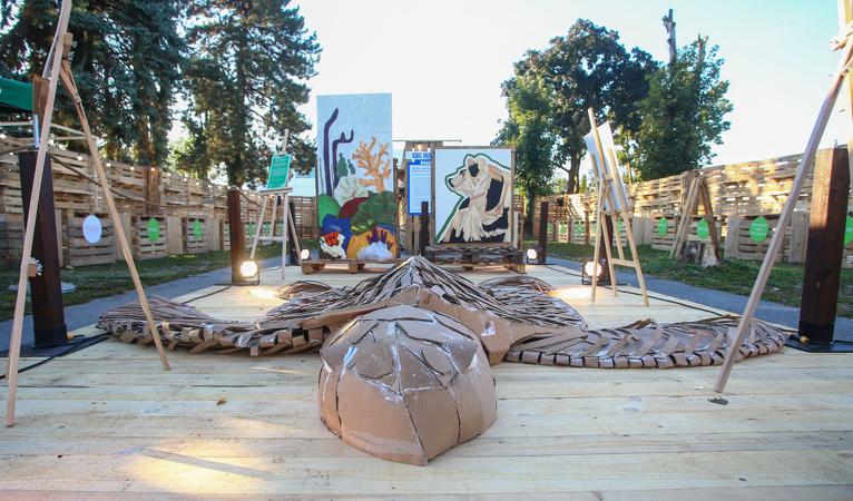 Nestlé eko-izložba 'Čista umjetnost' od 250 kilograma otpada, skulpture upozoravaju na važnost očuvanja okoliša