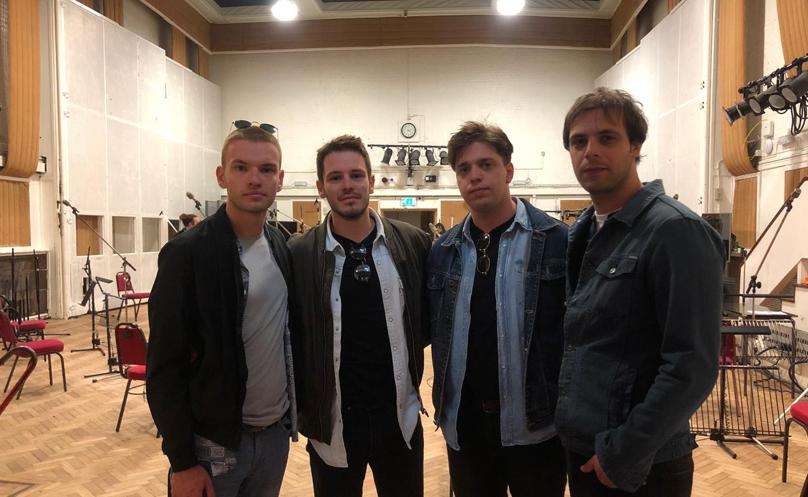 The Splittersima se ostvario san, novi singl su snimili u legendarnom studiju Abbey Road!