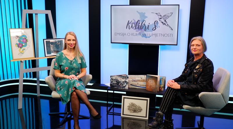 Maja Cipek u emisiji KolibriS: Primarno mi je slikarstvo, to sam znala valjda još od vrtića