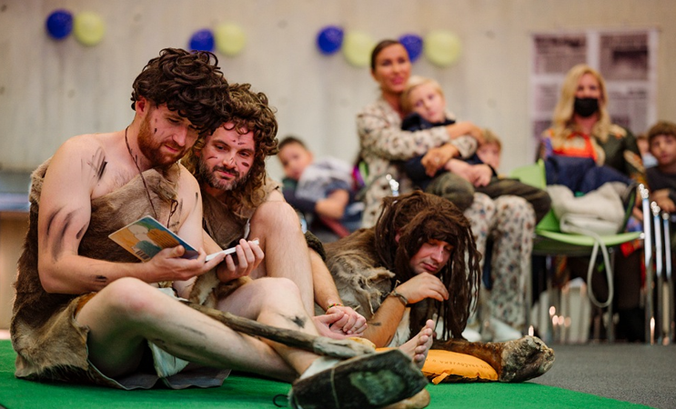 Novi projekt Hit-teatra: Slikovnica kao prozor u svijet hrvatskih neandertalaca