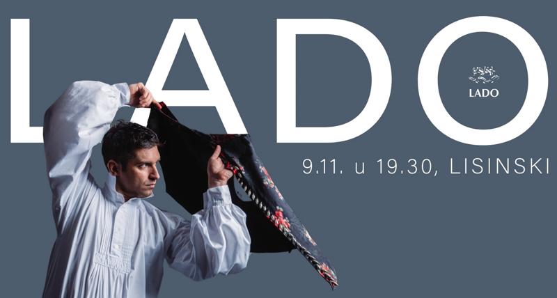 Svečani godišnji plesni koncert Ansambla LADO u Lisinskom