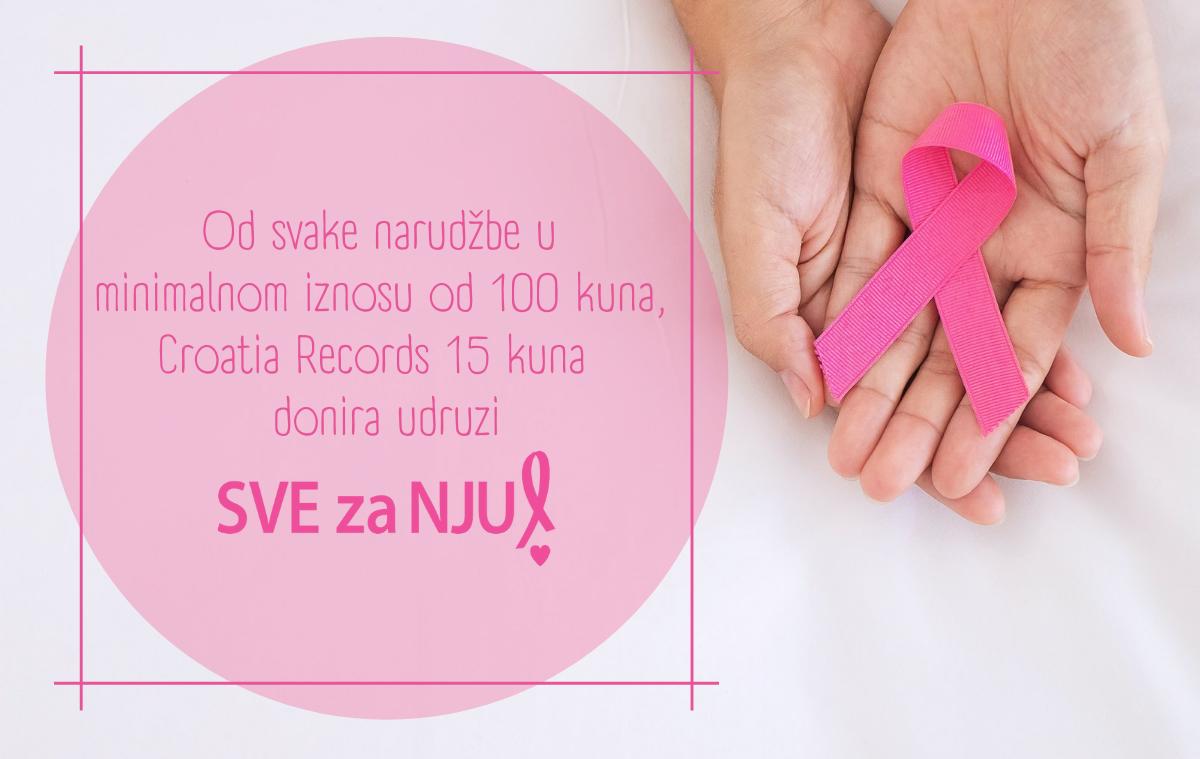 Glazbom obojimo listopad u ružičasto: SVE za NJU i Croatia Records uz sve hrabre žene koje se bore s malignim bolestima
